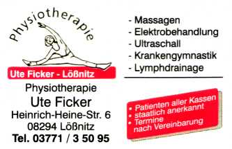Physiotherapie Massagen Ute Ficker,